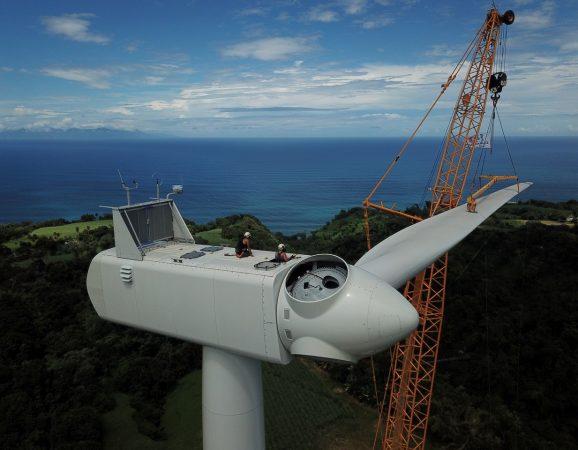 Parque eólico de GRESS, Martinica, 14 MW